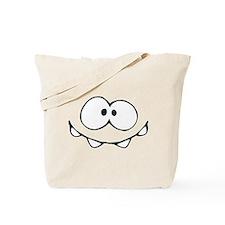 Om Nom Face Tote Bag