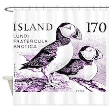 1980 Iceland Atlantic Puffins Postage Stamp Shower
