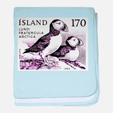 1980 Iceland Atlantic Puffins Postage Stamp baby b