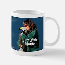 """""""I Fly With Marge"""" Coffee Mug - Large"""