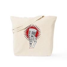Rockabilly Microphone Tote Bag