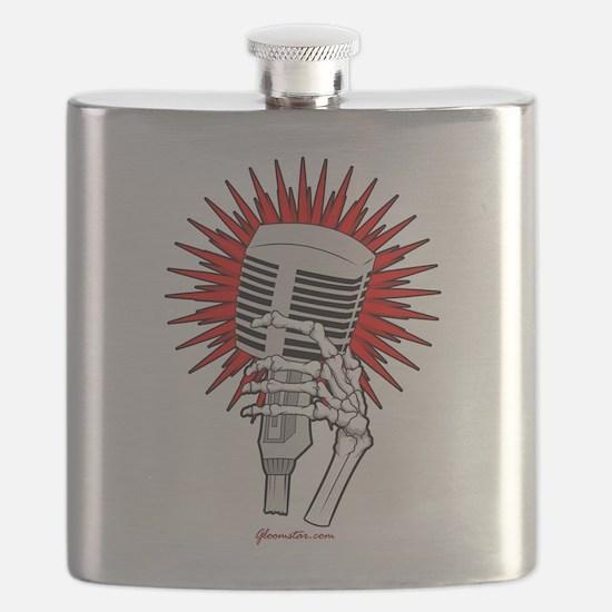 Rockabilly Microphone Flask
