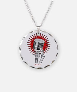 Rockabilly Microphone Necklace