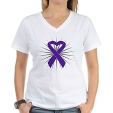 Pancreatic Cancer Heart Shirt