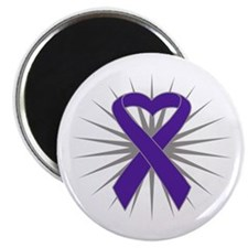 Pancreatic Cancer Heart Magnet