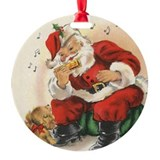Harmonica Round Ornament