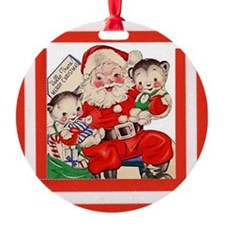 Santa and the Baby Bears - Vintage Series