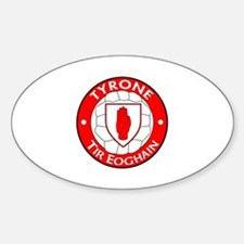 tyrone oval sticker