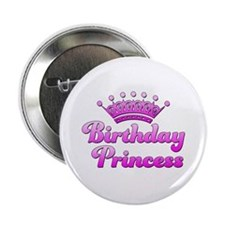 "Birthday Princess 2.25"" Button"