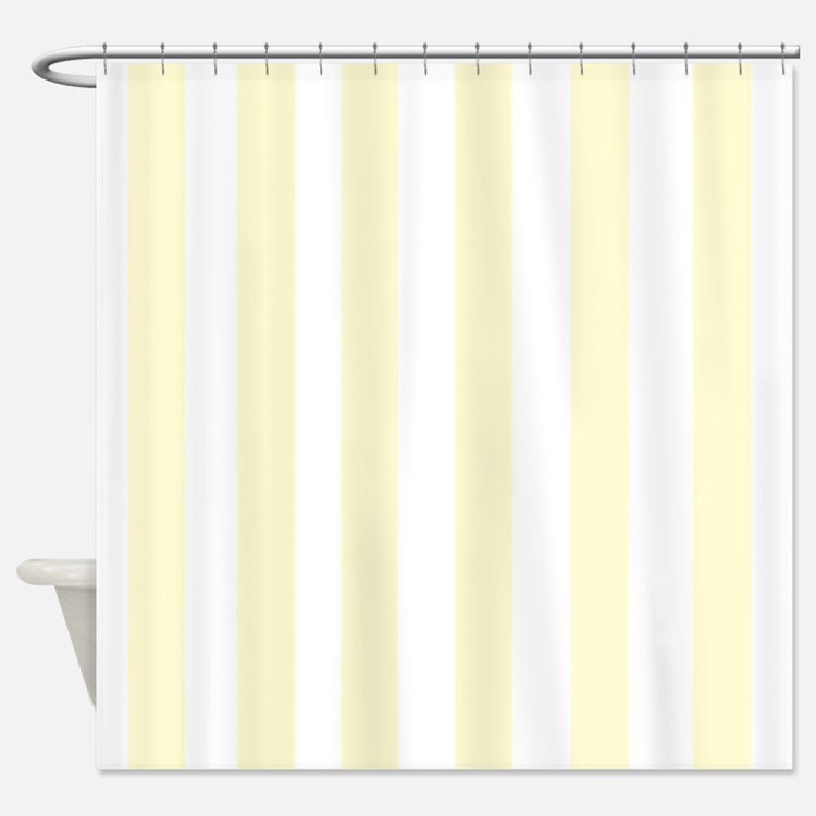 Yellow Stripes Shower Curtains Yellow Stripes Fabric Shower Curtain Liner