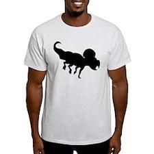 Protoceratops Silhouette T-Shirt