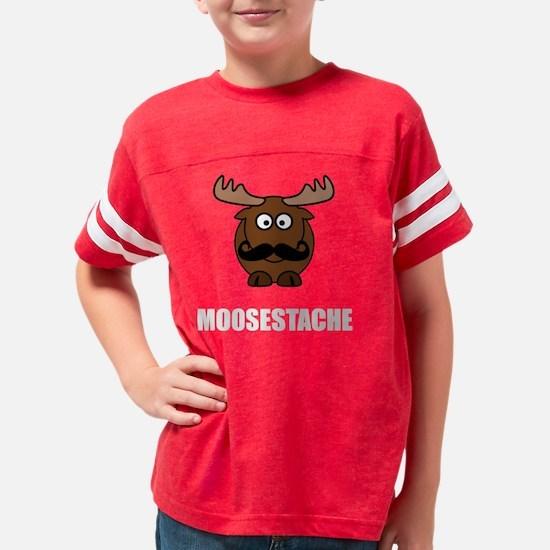 Moosestache Youth Football Shirt