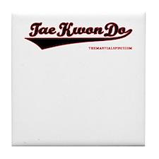 Team Tae Kwon Do Tile Coaster