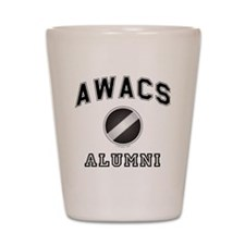 AWACS Alumni Shot Glass