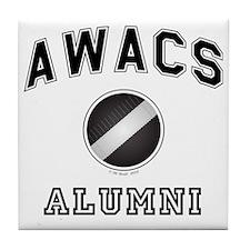 AWACS Alumni Tile Coaster