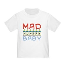 Mad Hungry Baby Boy T-Shirt