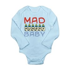 Mad Hungry Baby Boy Body Suit
