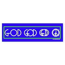 God is Peace Bumper Bumper Sticker