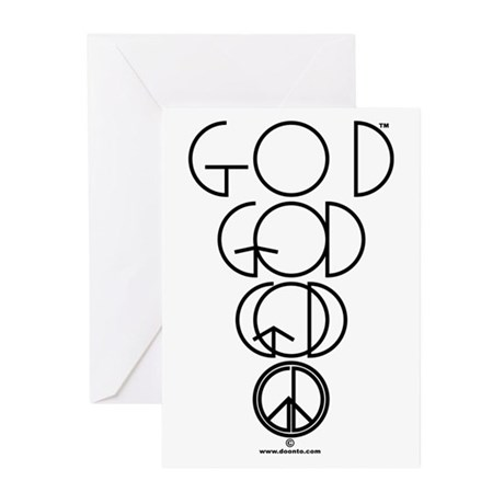 God is Peace Greeting Cards (Pk of 10)