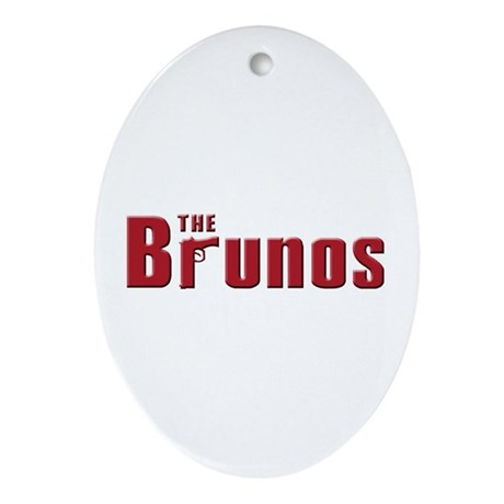 The Bruno family Oval Ornament