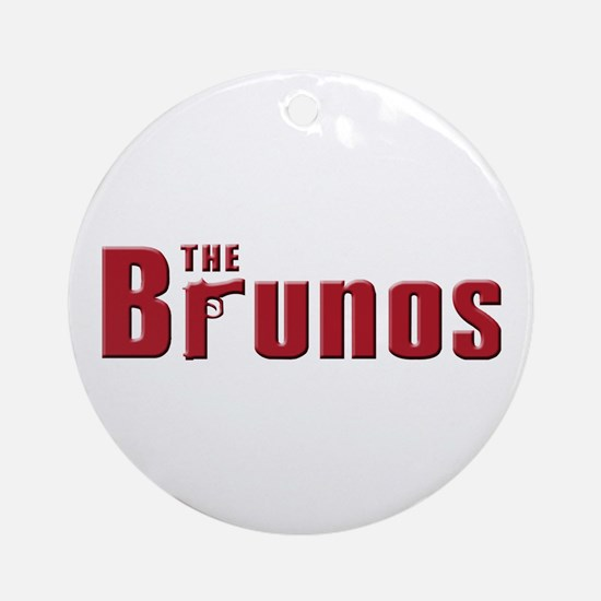 The Bruno family Ornament (Round)