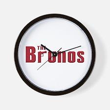 The Bruno family Wall Clock