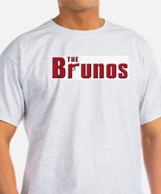 The Bruno family Ash Grey T-Shirt