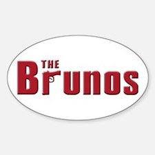 The Bruno family Oval Decal