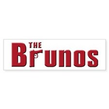The Bruno family Bumper Bumper Sticker