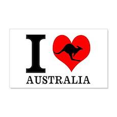 I Love Australia Wall Decal