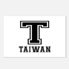 Taiwan Designs Postcards (Package of 8)