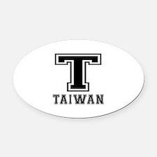 Taiwan Designs Oval Car Magnet