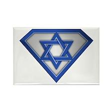 Super Israeli/Jew Rectangle Magnet
