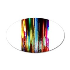 Times Square Lights Wall Decal