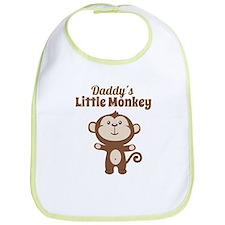 Daddys Little Monkey Bib