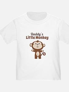 Daddys Little Monkey T-Shirt