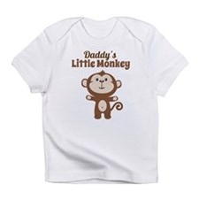 Daddys Little Monkey Infant T-Shirt
