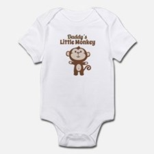 Daddys Little Monkey Body Suit