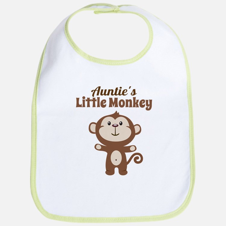 Aunties Little Monkey Bib