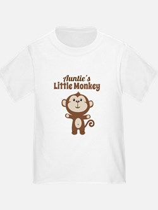 Aunties Little Monkey T-Shirt