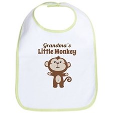 Grandmas Little Monkey Bib