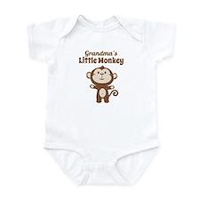Grandmas Little Monkey Body Suit