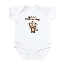 Babcias Little Monkey Body Suit