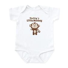 Bubbys Little Monkey Body Suit