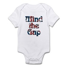 Mind The Gap Onesie