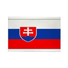 Slovakia Blank Flag Rectangle Magnet (10 pack)