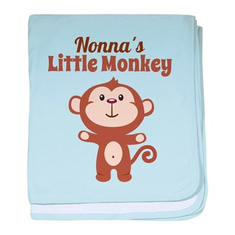 Nonnas Little Monkey baby blanket