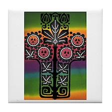 Cute Decolores Tile Coaster