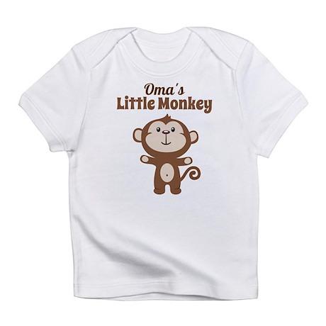 Omas Little Monkey Infant T-Shirt
