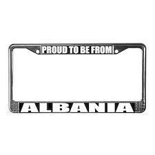 Albania License Plate Frame